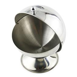 Newness Stainless Steel Multi-purpose Sugar Bowl with Roll T